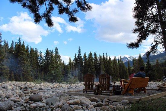 Baker Creek Mountain Resort: Bonfire