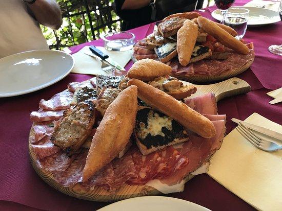Al Botteghino: affettati e salumi misti