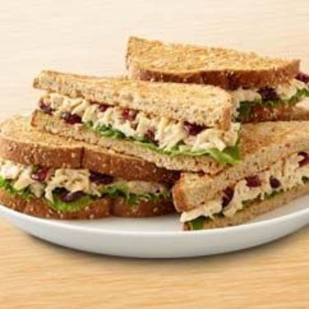 Waverly, TN: Everybody loves our Chicken Salad -- served on Wheatberry bread.