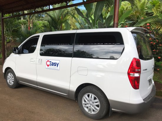 Arenal Volcano National Park, Costa Rica: The best private transport service in Costa Rica, free wifi on board