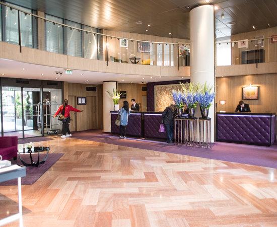 Lobby at the Sofitel Strasbourg Grande Ile