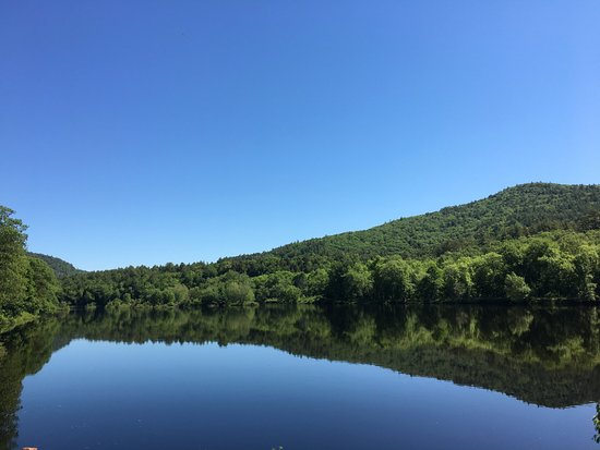 Stony Creek, NY: View from one of our cabins