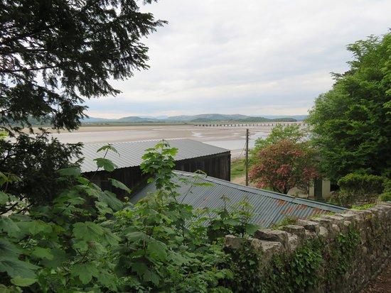 Arnside, UK: View from the back garden.