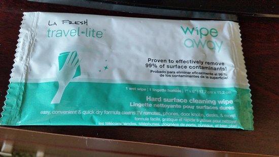 Hampton Inn South Plainfield-Piscataway: Wipe
