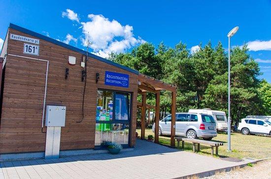 Kaunas Camp Inn: Rezeption