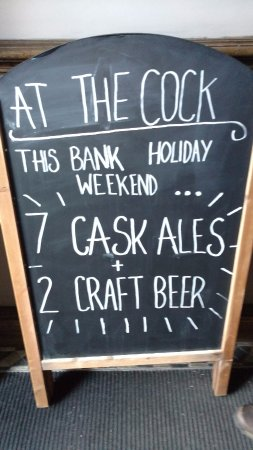Whaley Bridge, UK: Best Offerings At The Cock