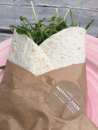 Café Notholmen: God mat på mysig ö