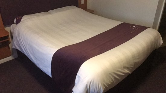 Llandudno Junction, UK: Heerlijk bed!