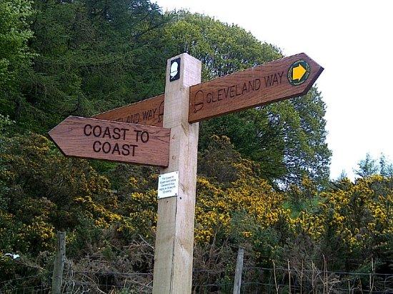 Osmotherley, UK: adj to popular walks including Lyke Wake Walk