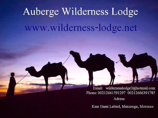 Auberge Wilderness Lodge: Visit Card