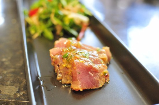 The Cooking Academy: Seared Raw Tuna - Fish Cookery Class