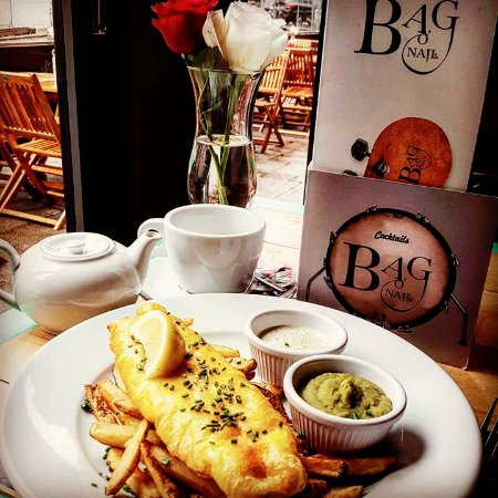 Food quality dropped review of bag o 39 nails glasgow for Fish tea bags
