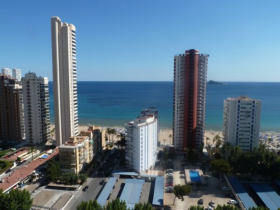 Hotel Don Pancho: View from 17th floor