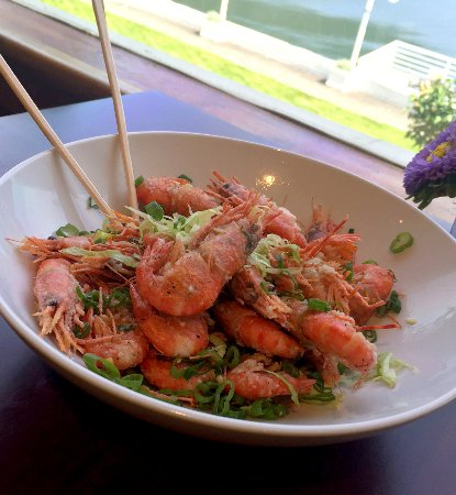 Eastsound, WA: Salt and Pepper Shrimp