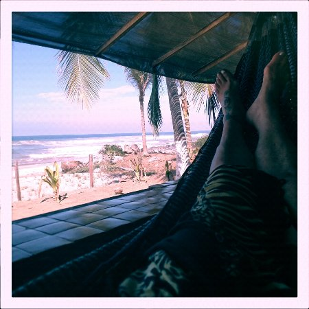 Troncones, Mexiko: Each room has a lovely hammock!