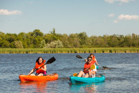 Volo, IL: Kayaking on Fish Lake! Bring your own or rent ours by the hour
