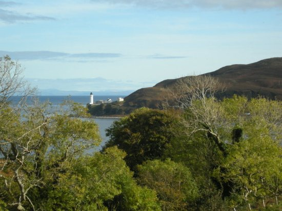 Kintyre Cottages: The lighthouse on Davaar Island well worth the walk
