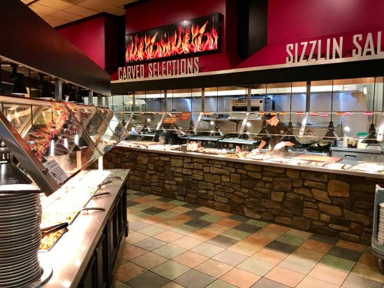 Wood Grill Buffet: A small sampling of the dining options