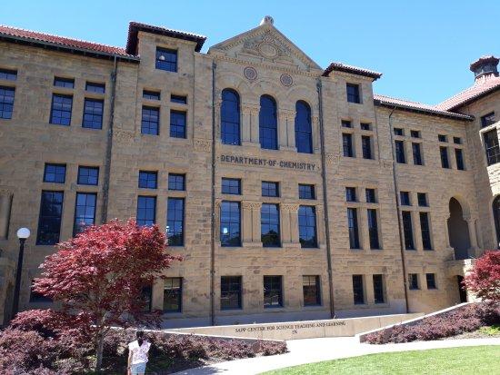Palo Alto, Californië: Dept of chemistry Stanford University