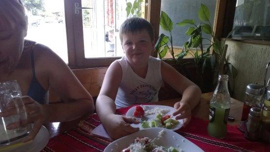 Aheloy, Bulgaristan: Одна из кафешек в Ахелое