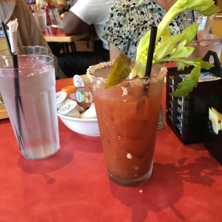 Suffolk, Wirginia: awesome Bloody Mary