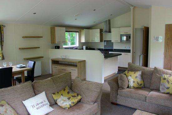 Wooler, UK: Riverside Park, 2 bedroom lodge