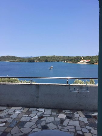 Остров Дуги, Хорватия: view from the balcony