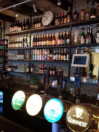 Kongsberg, Noruega: Large selection of beers