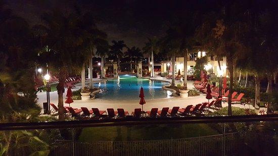 PGA National Resort U0026 Spa: Pool Bei Nacht