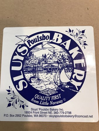 Poulsbo, WA: Box filled with donuts.