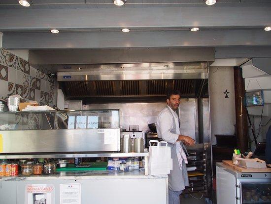 Ile-aux-Moines, Francia: Joseph le Chef libanais aux commandes !