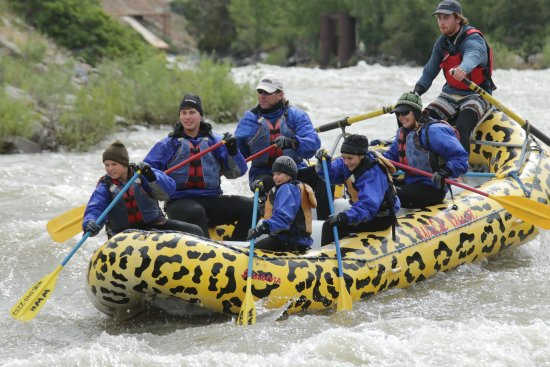Wild West Rafting: Working hard and having a blast