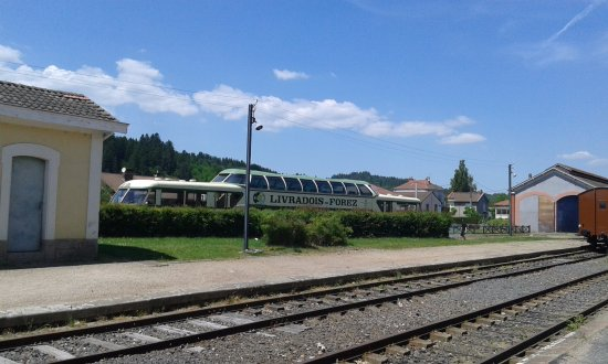 Ambert, Frankreich: LE train