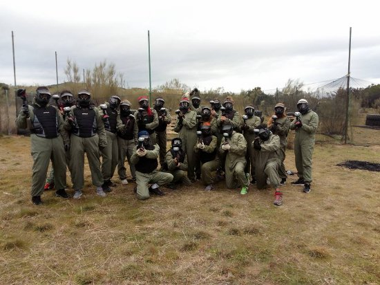 Desafio Paintball