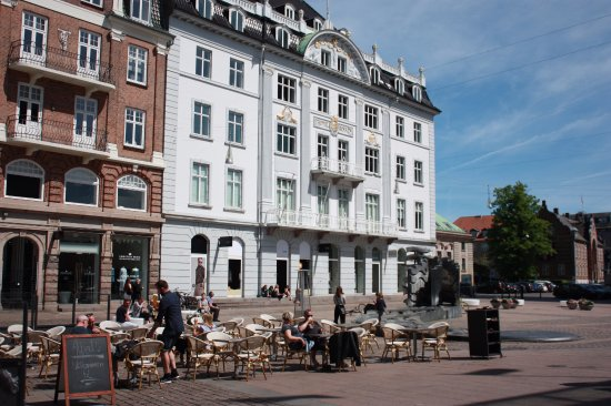 Aarhus, Hotel Royal, Facade facing Store Torv