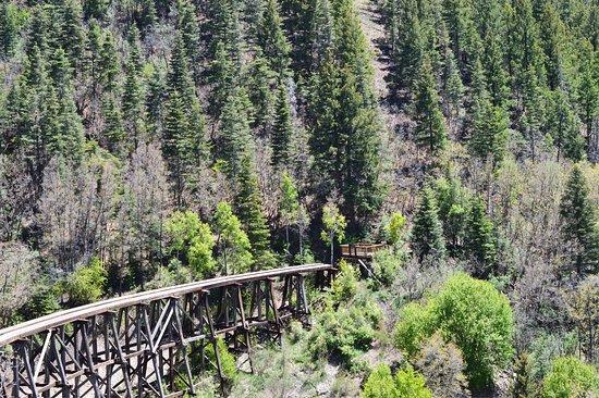 Cloudcroft, Nuevo Mexico: Overlook area views