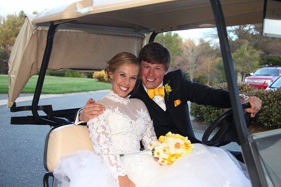 Roaring Gap, NC: Bride