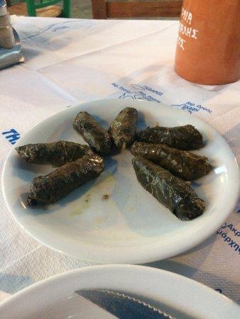 Livadia, กรีซ: Dolmades