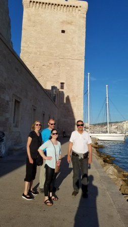 Marseille Provence Greeters - Private Tours: A quick pic at the end of our tour.