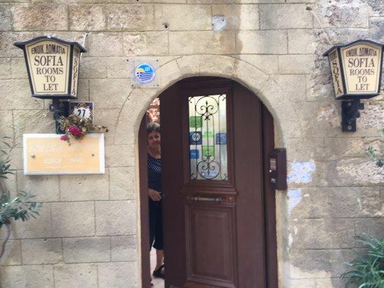 Sofia Pension: Sofia hälsar välkommen