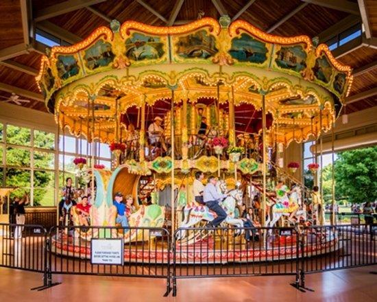 Kannapolis, Βόρεια Καρολίνα: Village Park Double Decker Carousel