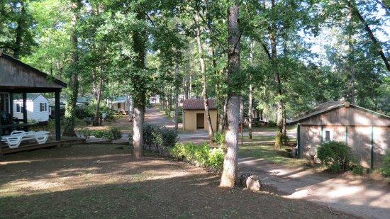 Sainte Nathalene, Frankrike: vue generale du camping
