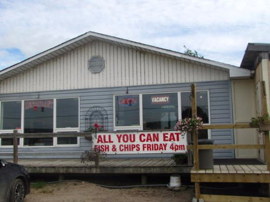 Bonfield, Canada : Dinner Bell and Motel