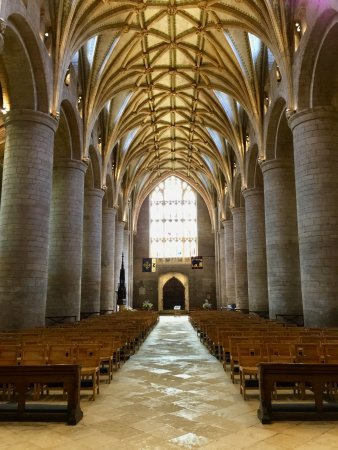 Tewkesbury Abbey Nave