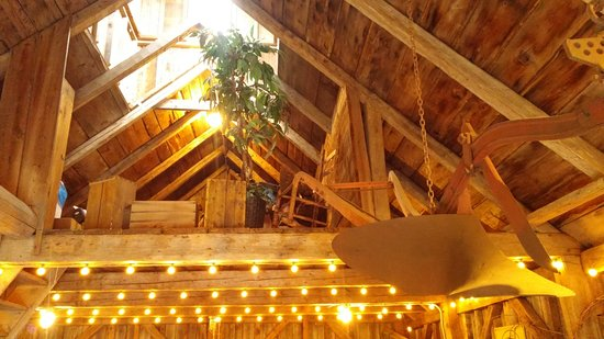 Magnetic Hill Winery : Upper loft in the barn