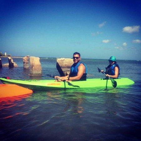 Savaneta, Aruba: Kayaking