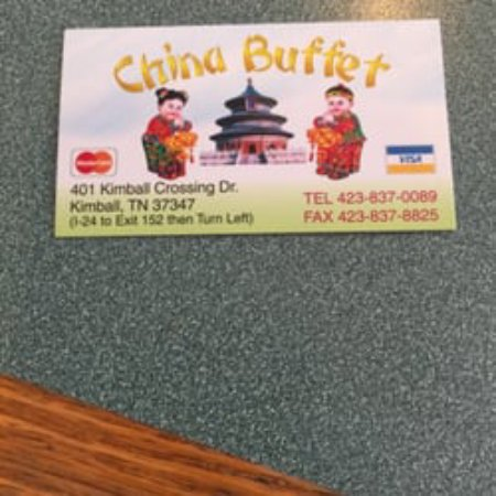 Kimball, TN: Business Card