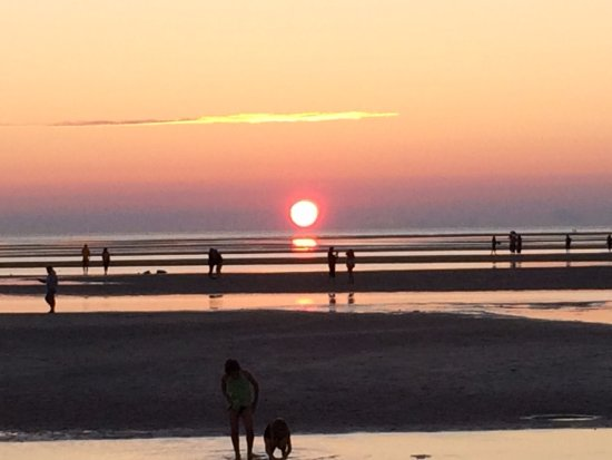 High Tide Sunset At Skaket Beach