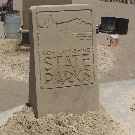 Hampton State Beach: Sand Sculpture Contest