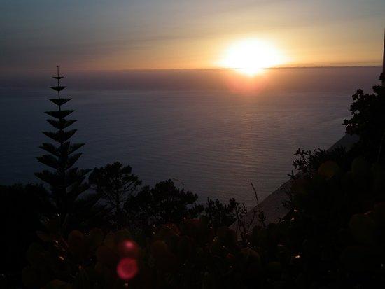 Hotel Jardim Atlantico: jedem abend fantastischer Sonnenuntergang